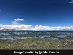 """There's No Hatred Here"": Rahul Gandhi Shares Pics From Mansarovar Lake"