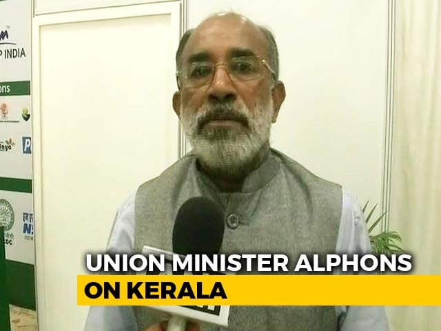 Video : Need This To Rebuild Kerala, Not Food And Clothes, Says Union Minister