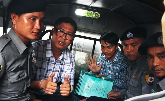 Burmese journalists lose appeal against seven-year sentence