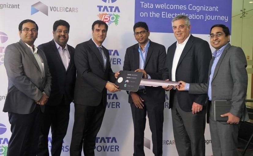 Tata To Supply Tigor EVs To Professional Services Provider Cognizant