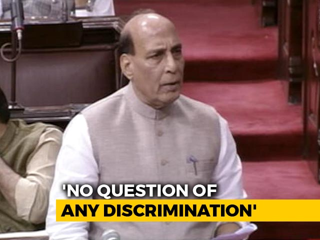 """Video : """"No Indian Will Be Left Out Of Assam Citizens' List"""": Rajnath Singh"""