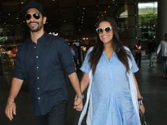 Viral: Pics Of Parents-To-Be Neha Dhupia, Angad Bedi Walking Hand-In-Hand Are Too Cute