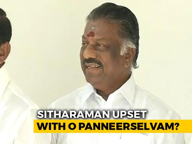"Video : ""Should Have Heart To Accept Anything"": O Panneerselvam After Delhi Snub"