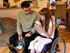 """Student Designs Controller """"Mylo"""" To Boost Disabled Sister's Dexterity"""