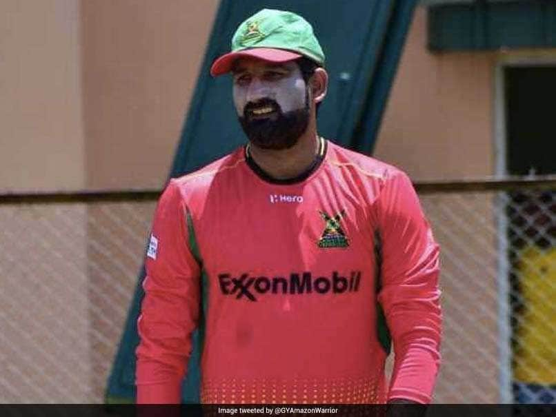 CPL 2018: Sohail Tanvir gives Ben Cutting vulgar sending-off in a match