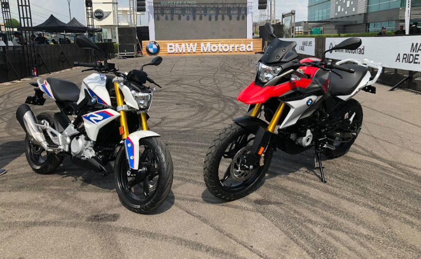 bmw g 310 r bmw g 310 gs receive over 1 000 bookings. Black Bedroom Furniture Sets. Home Design Ideas