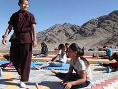 """Ladakh No Longer Safe For Women"": Kung Fu Nuns Step In To Empower"