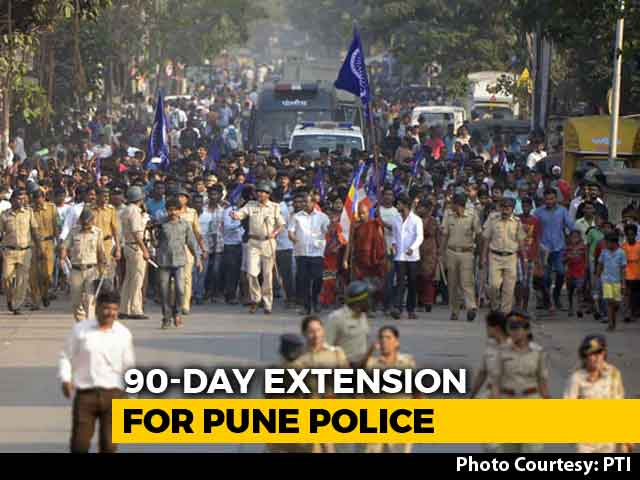 Video : Pune Police Gets 90 Days To File Chargesheet In Bhima-Koregaon Case