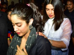 Priyanka Chopra Invites Janhvi Kapoor To Celebrate Her Dad's Birth Anniversary. See Pics