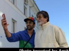 <I>Brahmastra</I>: Amitabh Bachchan And Ranbir Kapoor Bond Over 'Selfies And All' In New York