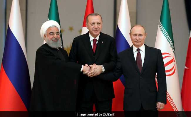 Iran, Russia, Turkey To Hold Syria Summit Next Week: Reports