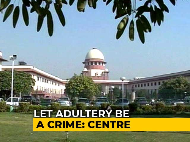 Video : Adultery Must Stay A Crime For Sanctity Of Marriage: Centre To Court