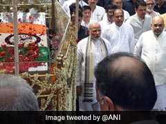 PM Modi Walks Alongside, Thousands Gather For Vajpayee's Final Jounrney