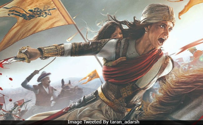 Manikarnika first look : Kangana as fiery Jhansi