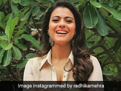 Kajol Channels Some Floral Vibes At Another <i>Helicopter Eela</i> Promotional Event