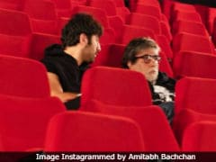 <i>Brahmastra</i>:  After Selfies, Amitabh Bachchan And Ranbir Kapoor Bond Over Movies