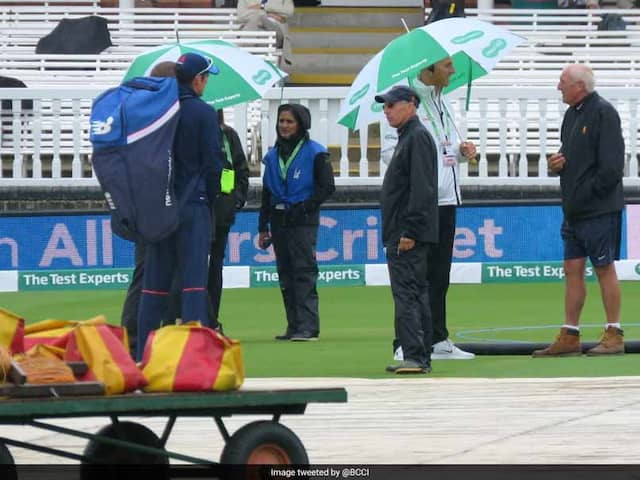 India vs England: Rain Washes Out Day 1 Of 2nd Test At Lords
