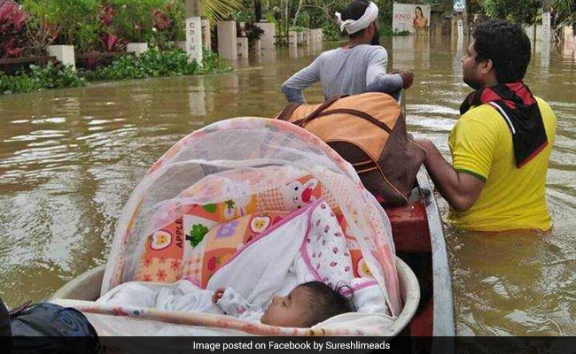 'Our Only Hope Was God': Kerala Couple Rode With Baby On Canoe For 5 Km