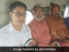 Centre Approved Rs 80 Crore Aide To Kerala For Floods: Kiren Rijiju