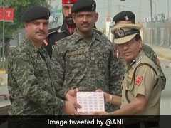 Independence Day: India-Pak Security Forces Exchange Sweets At Border