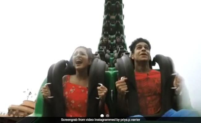 Priya Prakash Varrier को को-स्टार ने दिया ऐसा चैलेंज, पूरा करने में हुआ चीख-चीखकर बुरा हाल