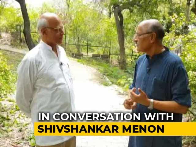 Video : Walk The Talk With Shivshankar Menon