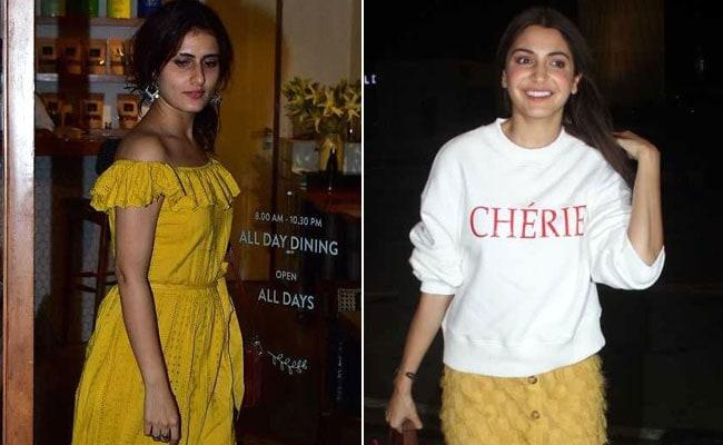 Anushka Sharma To Fatima Sana Shaikh: Celebrities Who Have Rocked Yellow This Month