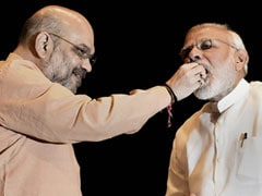 <i>Laddoos</i> For PM, New Seating Plan At First BJP Meet Since No-Trust Vote