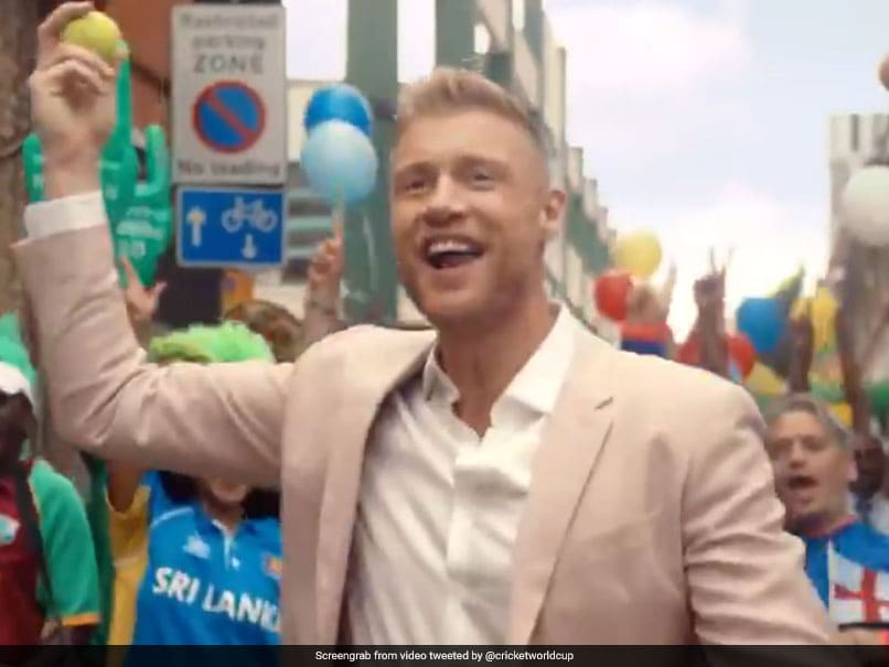 Andrew Flintoff Belts Out Imagine Dragons Hit To Put Cricket World Cup