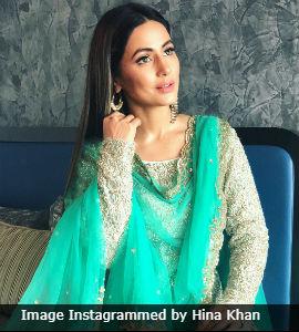 Bakrid 2018 Want To Dress Up Hina Khan Said So How Did She Do