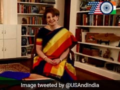 US Envoy Who Led Saree Search Last Year Shares Independence Day 2018 Message