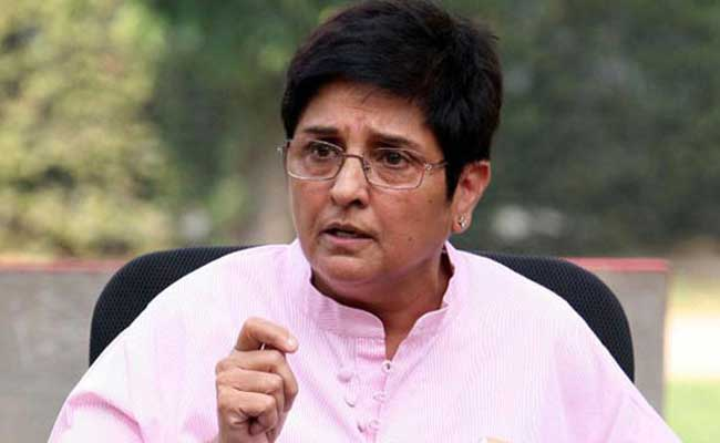 On Appointment Of Officer On Special Duty To Kiran Bedi, Notice To Centre