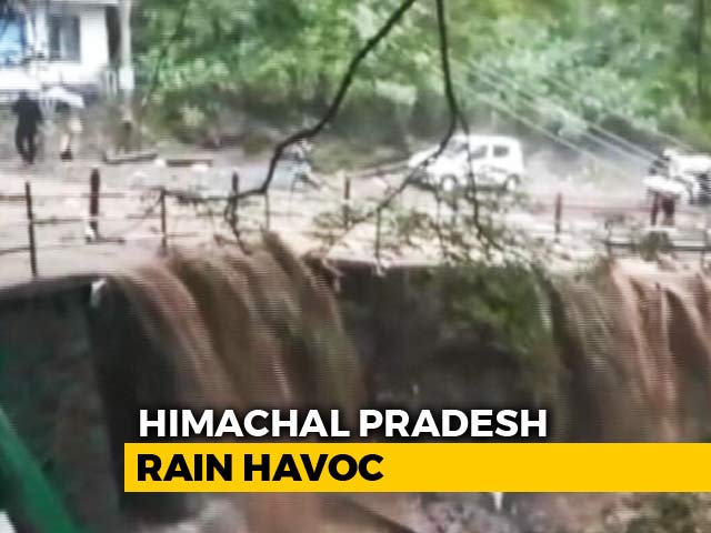 Video : 18 Dead As Rain Pounds Himachal Pradesh, Schools Closed