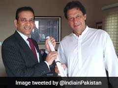 At Envoy Meet With Imran Khan, A Gift, Regards From Indian Cricket Team