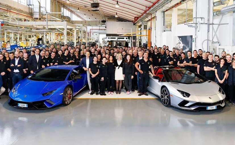 Lamborghini Reaches Production Milestone For The Aventador And Huracan