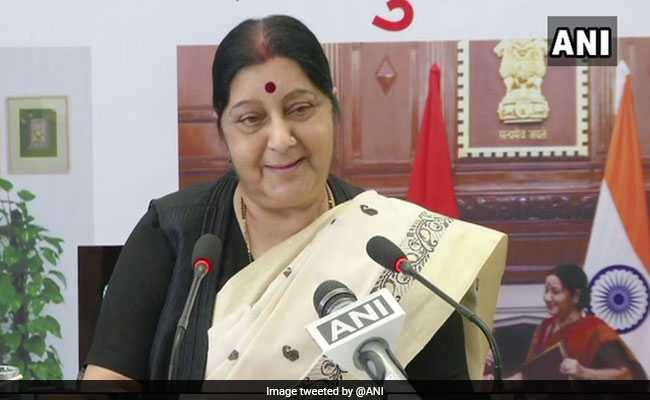 'For Indians Stuck Anywhere, Help Just A Tweet Away,' Says Sushma Swaraj