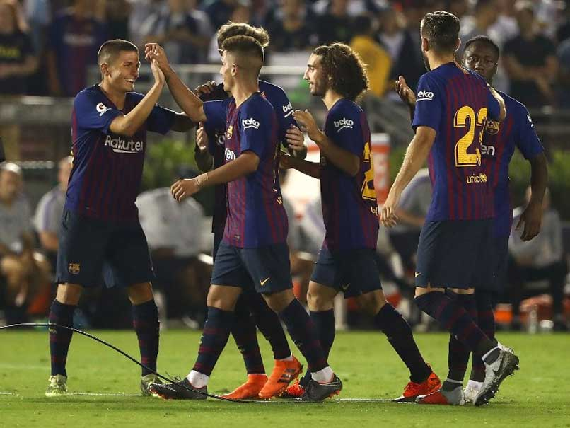 Barcelona Topple Tottenham Hotspur On Penalties After 2-2 Draw