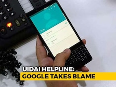Google Takes The Blame For UIDAI Number Showing Up In People's Phones