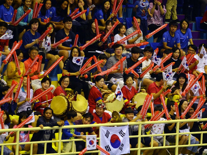 Joint Korean March To Get Asian Games Opening Ceremony Started