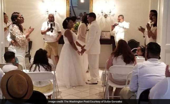 A Storm Was Ruining This Beach Wedding. Then A Stranger Saved The Day