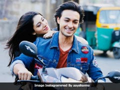 <i>Loveratri</i>'s Warina Hussain And Aayush Sharma Fined For Riding Bike Without Helmets In Gujarat: Reports