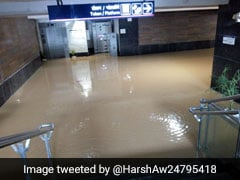 Delhi Metro Station Flooded Days Before Its Opening. See Pics
