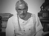 Video : Watch: 3 Famous Poems Of Former PM Atal Bihari Vajpayee