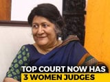 Video : In Justice Indira Banerjee's Appointment To Supreme Court, A New Record