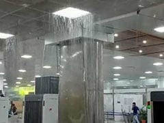 Brand New Roof At Guwahati Airport Turns Shower Faucet After Rain