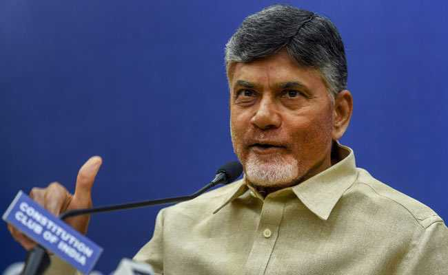 KCR Colluded With BJP To Target Me, Says Chandrababu Naidu