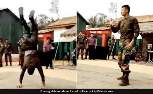Indian Army के जवान ने किया धमाकेदार डांस, देखकर आपको भी आ जाएगा जोश