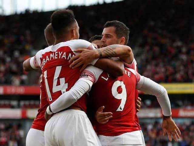 Premier League: Unai Emery Gets First Win As Arsenal Battle Back Against West Ham