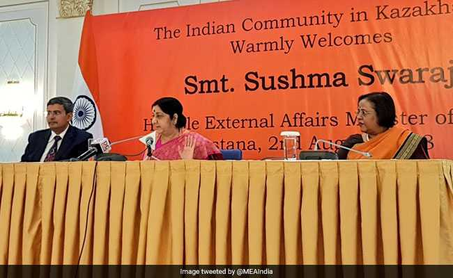 'Nehru To Manmohan Singh, None Addressed NRIs In Rallies': Sushma Swaraj