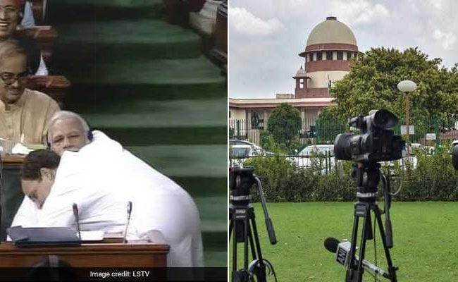 सदन में PM मोदी से गले मिले राहुल, सुप्रीम कोर्ट ने मदुरै बेंच के फैसले पर लगाई रोक, 5 बड़ी खबरें
